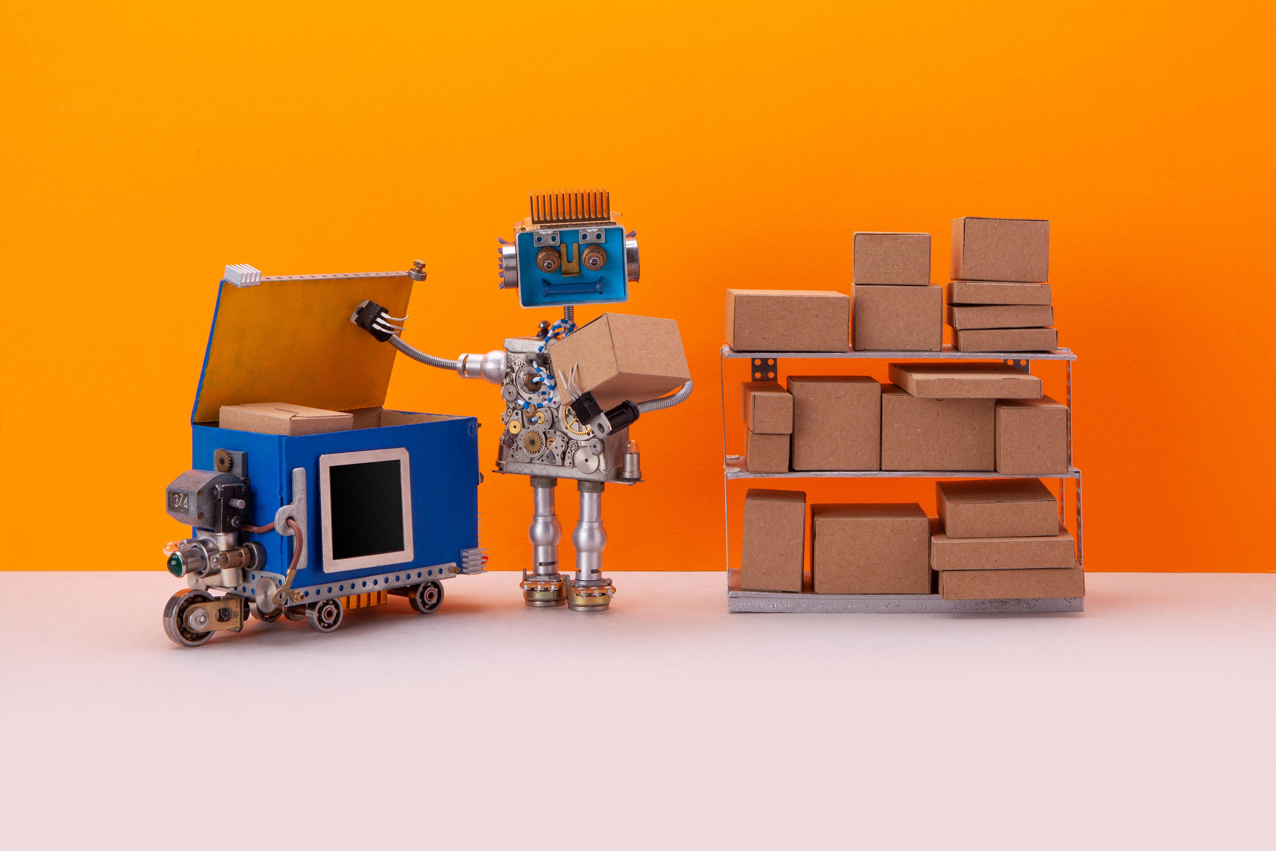 Det er ikke robotter, der leverer vores legetøj